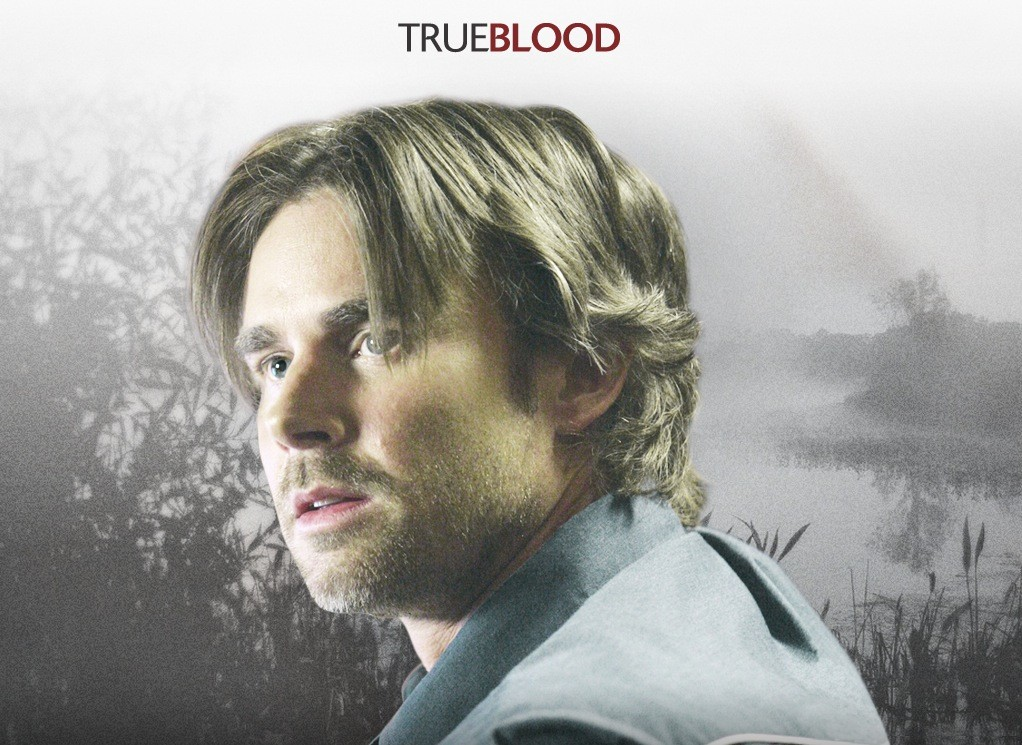 Un wallpaper della serie tv True Blood con Sam Trammell
