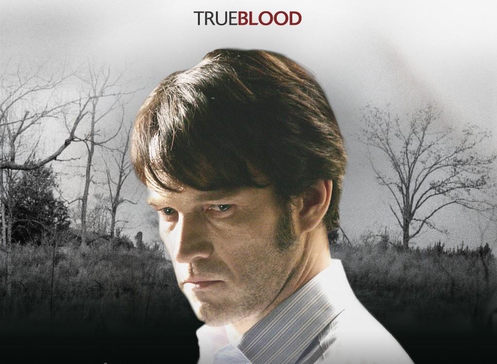 Un wallpaper della serie tv True Blood con Stephen Moyer