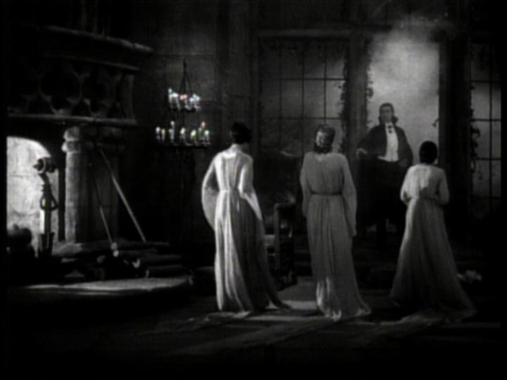 Bela Lugosi in una scena di Dracula