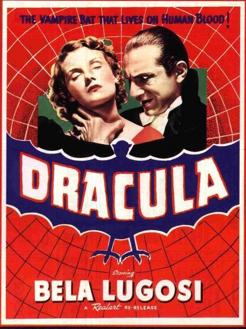 Locandina americana di Dracula