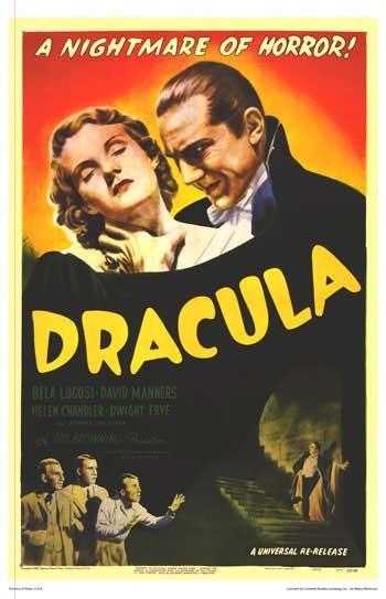 Poster americano di Dracula