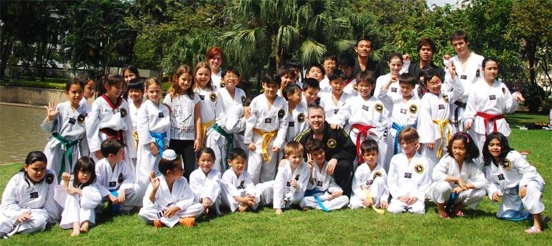 Accademia di Tae Kwon do in Thailandia di Don Ferguson