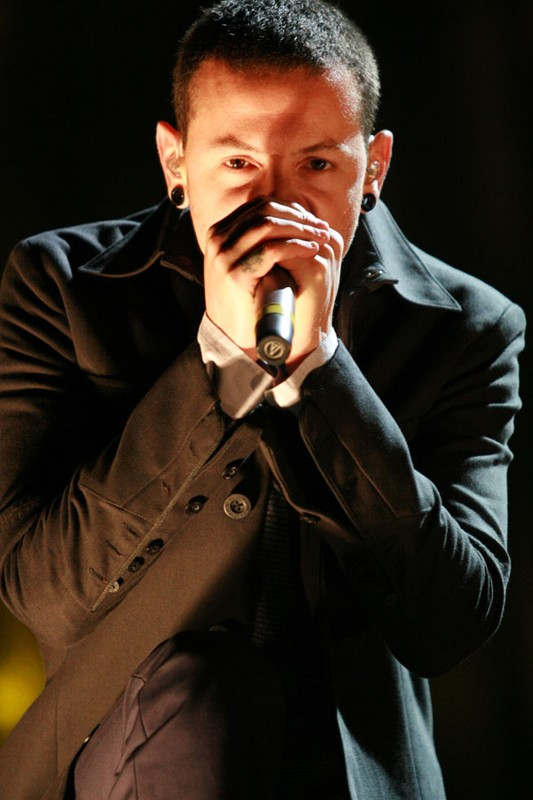 Chester Bennington cantante dei Linkin Park