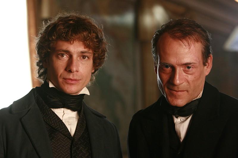 Giorgio Pasotti in un momento del film TV David Copperfield