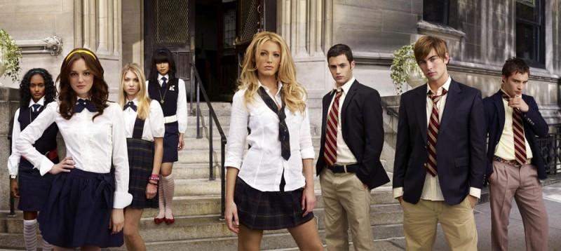 Il cast della 1 stagione di Gossip Girl