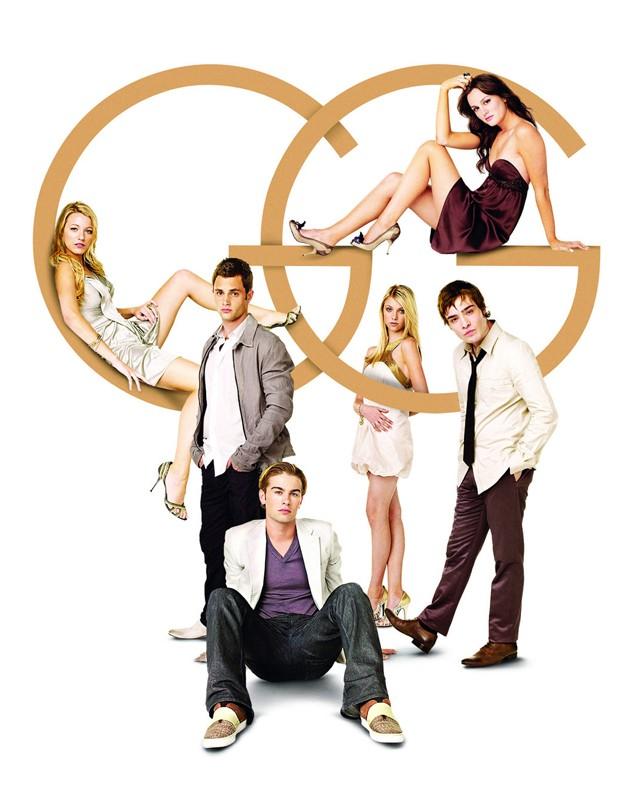 Il cast di Gossip Girl per la 1 stagione