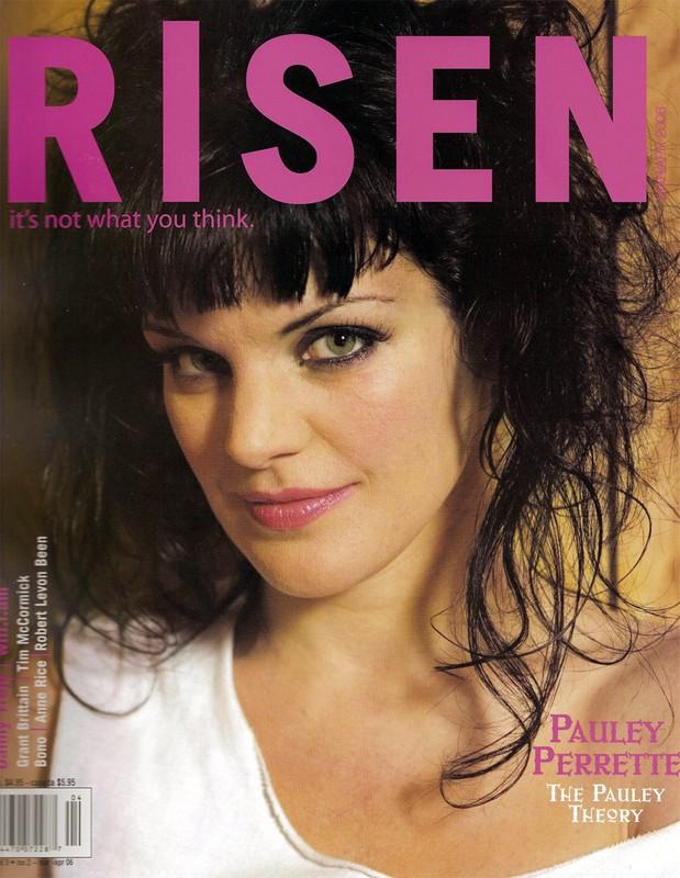Pauley Perrette sulla rivista 'Risen'