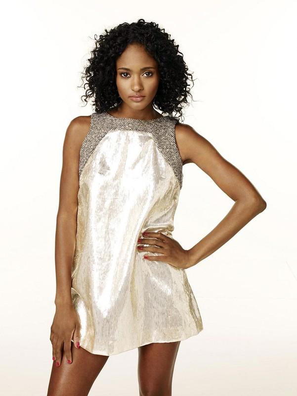 Una foto promozionale di Nicole Fiscella per la prima stagione della serie tv Gossip Girl