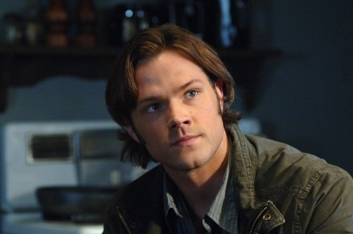 Jared Padalecki in una scena dell'episodio Jump the Shark di Supernatural