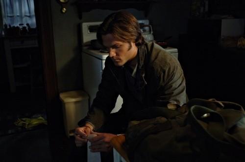 Jared Padalecki nell'episodio Jump the Shark di Supernatural