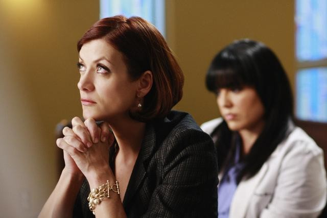 Kate Walsh in una scena dell'episodio Before and After di Grey's Anatomy