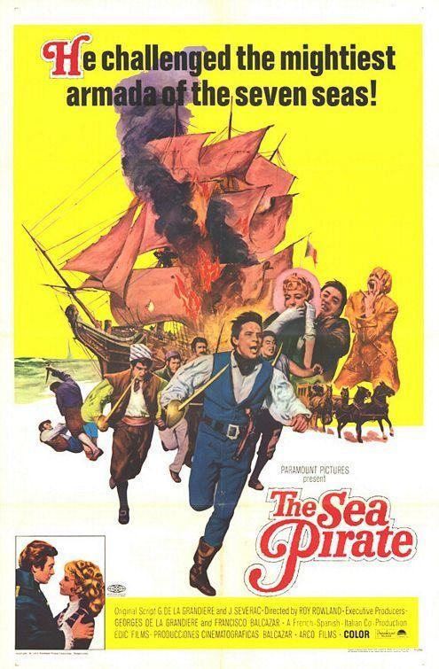 La locandina di Surcouf l'eroe dei sette mari