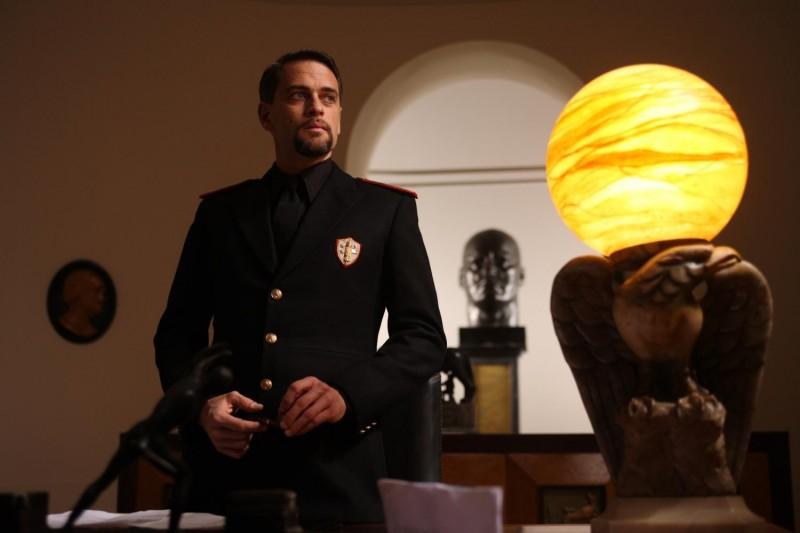Massimo Poggio in una scena del film Il sangue dei vinti