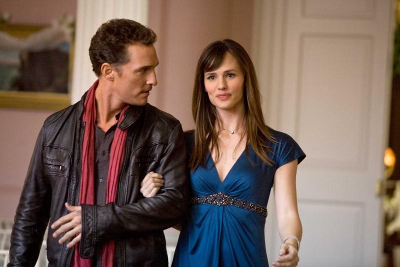 Matthew McConaughey e Jennifer Garner in un'immagine del film La rivolta delle ex
