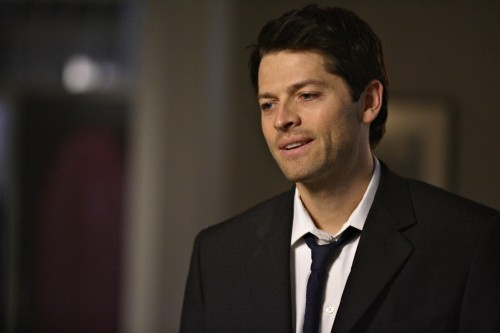 Misha Collins in una scena dell'episodio The Rapture di Supernatural