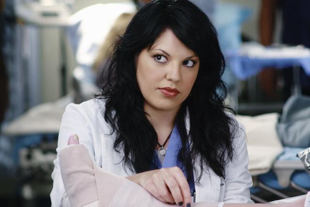 Sara Ramirez in una scena dell'episodio An Honest Mistake di Grey's Anatomy