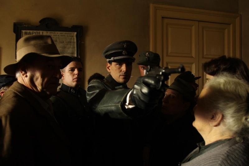 Stefano Dionisi in un'immagine del film Il sangue dei vinti