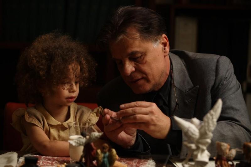 Teresa Dossena e Michele Placido in un'immagine del film Il sangue dei vinti