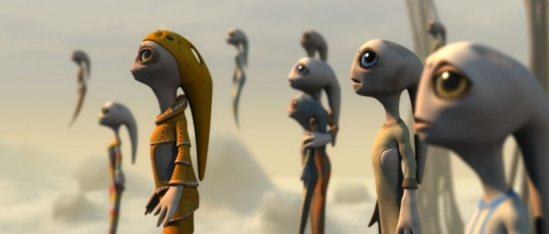 Un'immagine da Battaglia per la Terra 3D