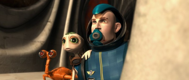 Un'immagine tratta da Battaglia per la Terra 3D