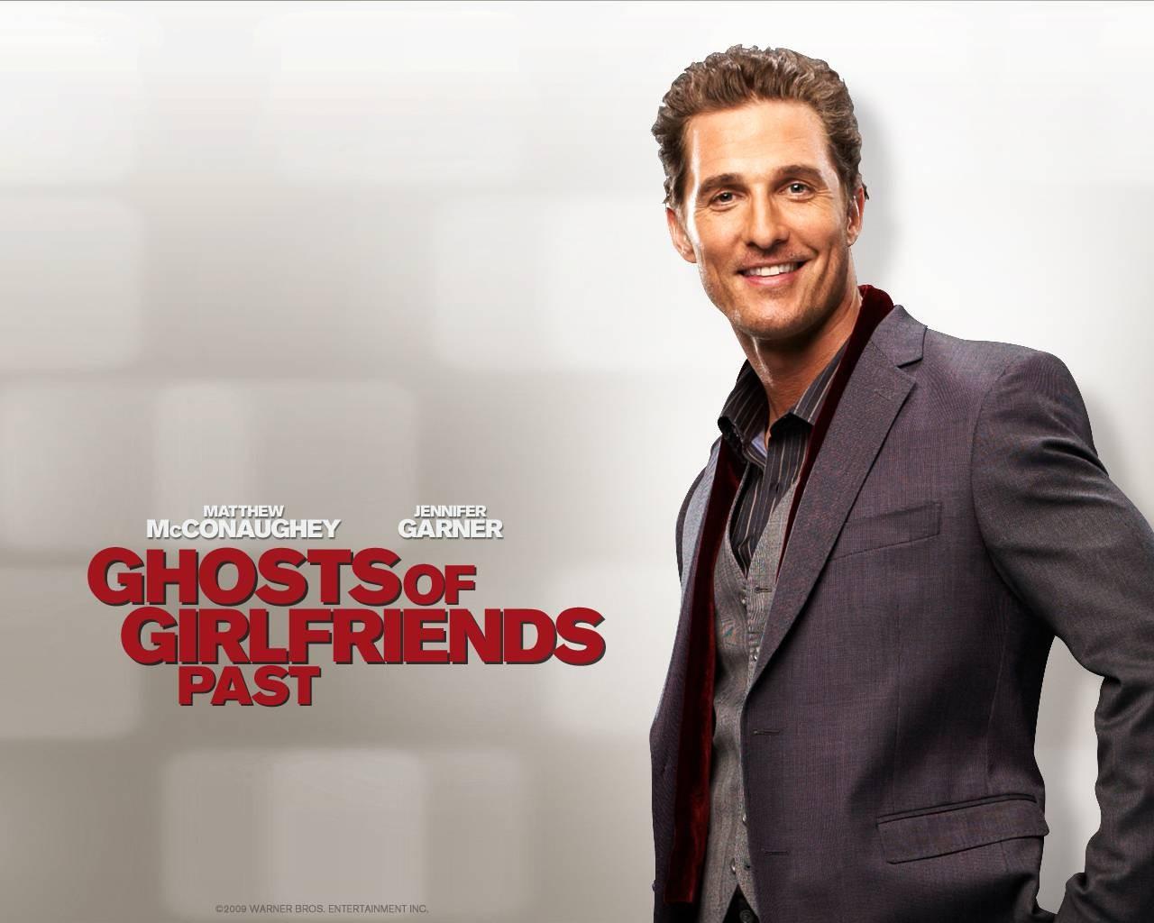 Un wallpaper del film La rivolta delle ex con Matthew McConaughey