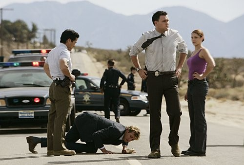 Una scena dell'episodio Red-Handed di The Mentalist