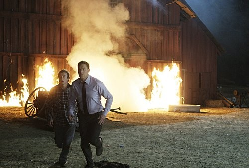 Una scena dell'episodio Red John's Friends di The Mentalist