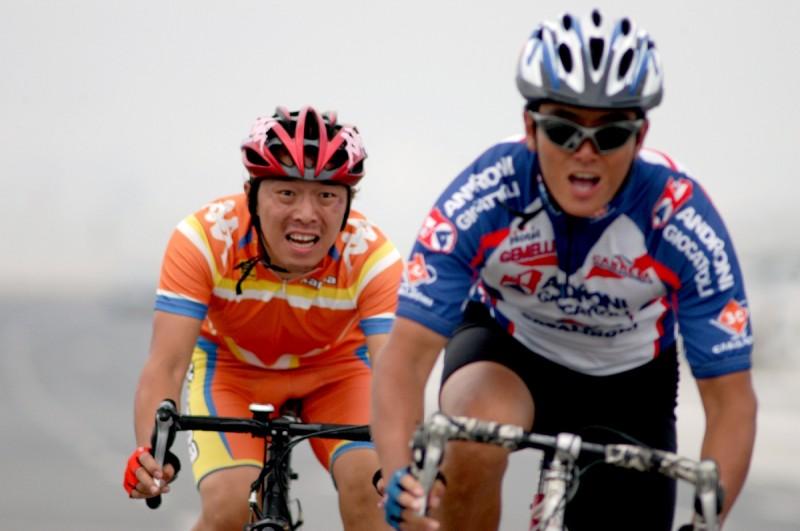 due protagonisti della commedia Crazy Racer presentata al Far East Film 2009 nella sezione 'China'.