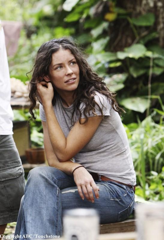Evangeline Lilly in una scena dell'episodio The Incident, finale della stagione 5 di Lost