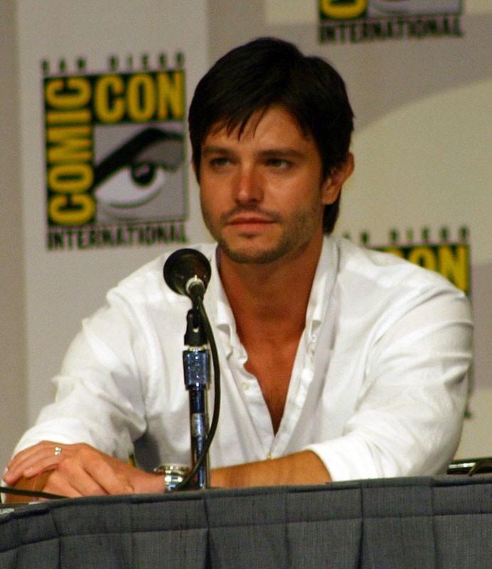 Jason Behr al Comic Con 2007 per 'Dragon Wars'