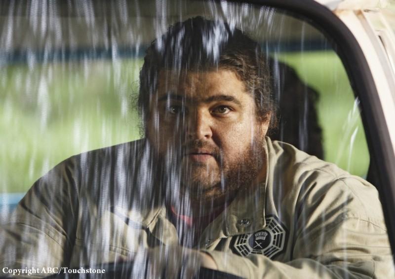 Jorge Garcia in una scena dell'episodio The Incident, finale della stagione 5 di Lost