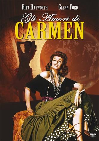 La copertina di Gli amori di Carmen (dvd)