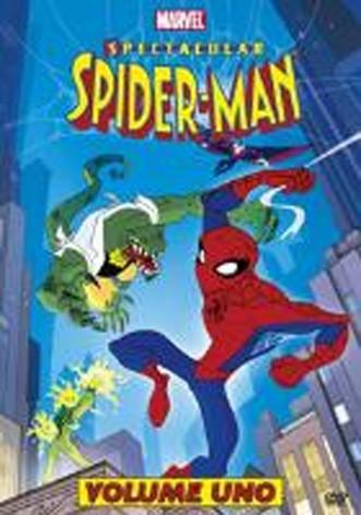 La copertina di Spectacular Spider-Man - Vol. 1 (dvd)