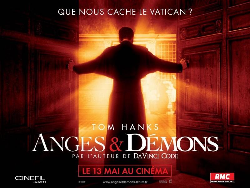Locandina francese di Angeli e Demoni