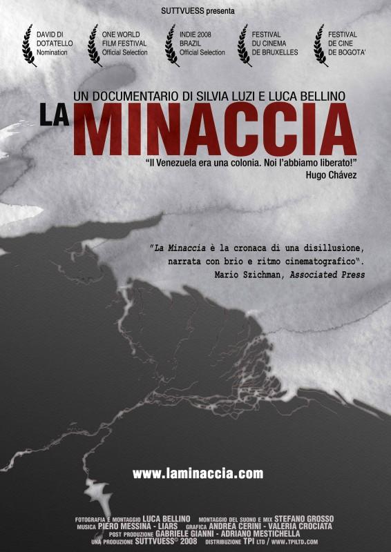 Poster del documentario La minaccia