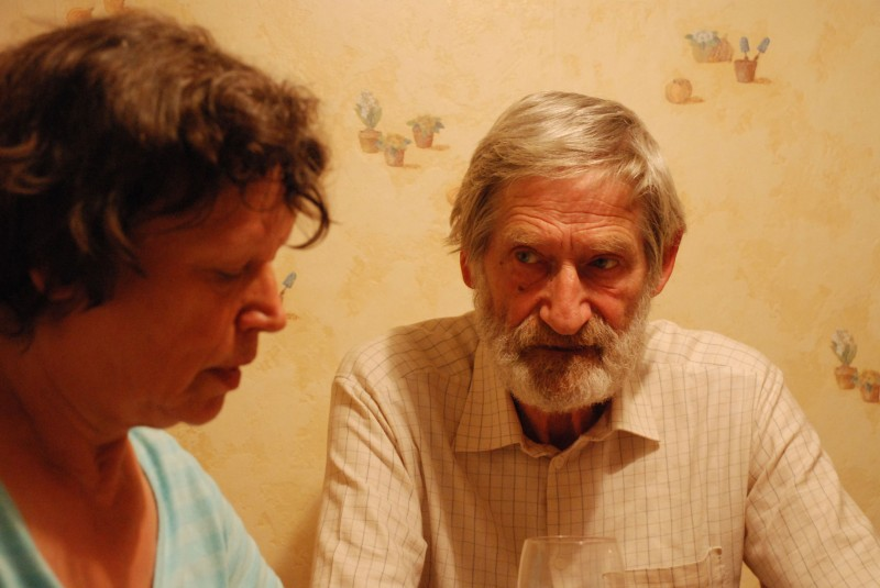 Ursula Werner e Horst Rehberg in una sequenza del film Settimo cielo