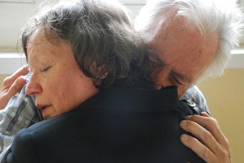 Ursula Werner e Horst Westphal in una sequenza di Settimo cielo