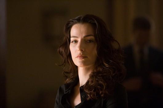 Vittoria Vetra (Ayelet Zurer) in una sequenza di Angeli e Demoni