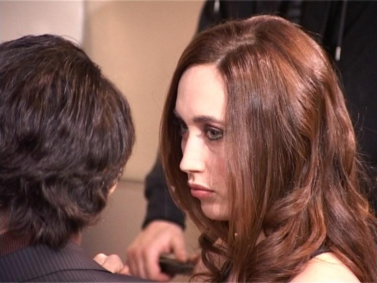 Chiara Francini in una scena dell'episodio 'Gaymers' di Feisbum - Il film