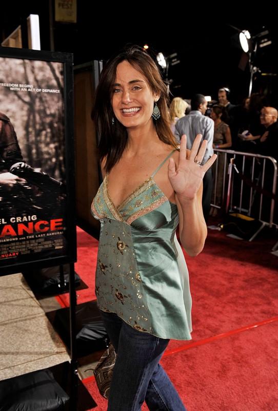 Diane Farr alla premiere di 'Defiance'