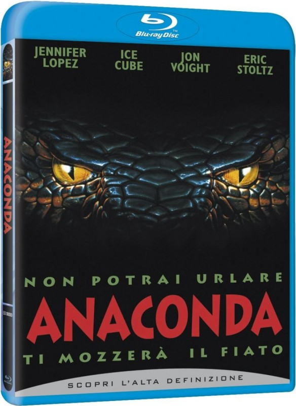 La copertina di Anaconda (blu-ray)
