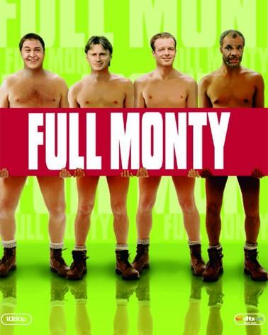 La copertina di Full Monty (blu-ray)