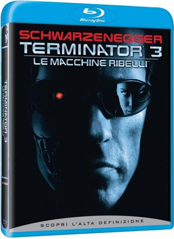 La copertina di Terminator 3 - Le macchine ribelli (blu-ray)