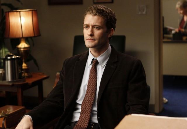 Matthew Morrison nel pilot della serie Glee