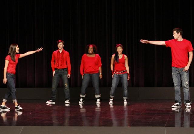 Una scena del pilot della serie TV Glee