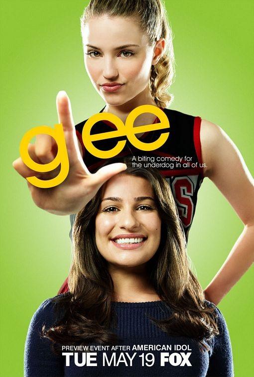 Uno dei manifesti della serie Glee