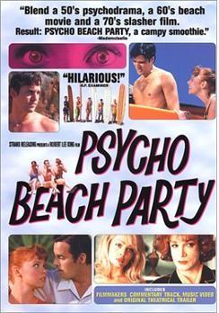 La locandina di Psycho Beach Party