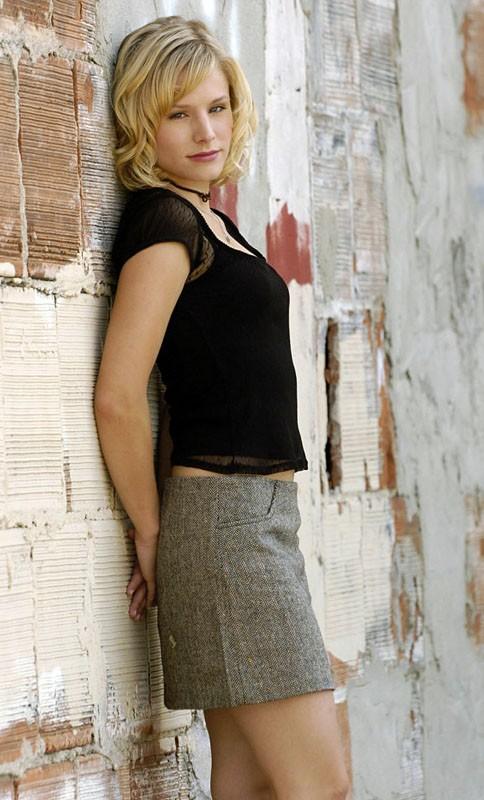 Una foto promo di Kristen Bell per 'Veronica Mars'
