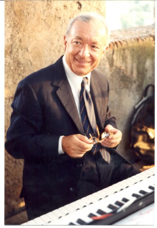 Il compositore Piero Umiliani