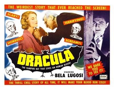 Altra lobbycard promozionale di Dracula